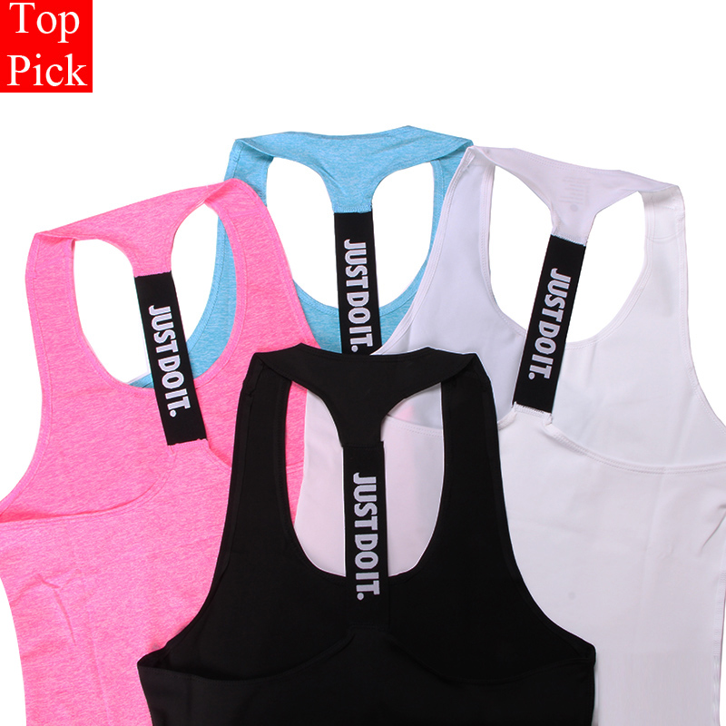 TOPPICK Professionelle Yoga Weste Ärmel Einfarbig Lose Schnell Trocknend Lauf Gym Sport Yoga Shirt Frauen Fitness Tank Top
