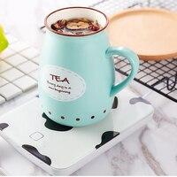 Posavasos termostático con calentador de 55 grados  posavasos calefactable de 18 W  calentador eléctrico para bebidas  calentador de biberones