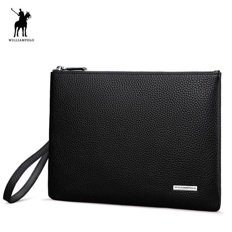 Fashion Genuine Leather Simple Design iPad Holder iPad Case Clutch Wallet Bag Black PL169 Fashion Genuine Leather Simple Design iPad Holder iPad Case Clutch Wallet Bag Black PL169
