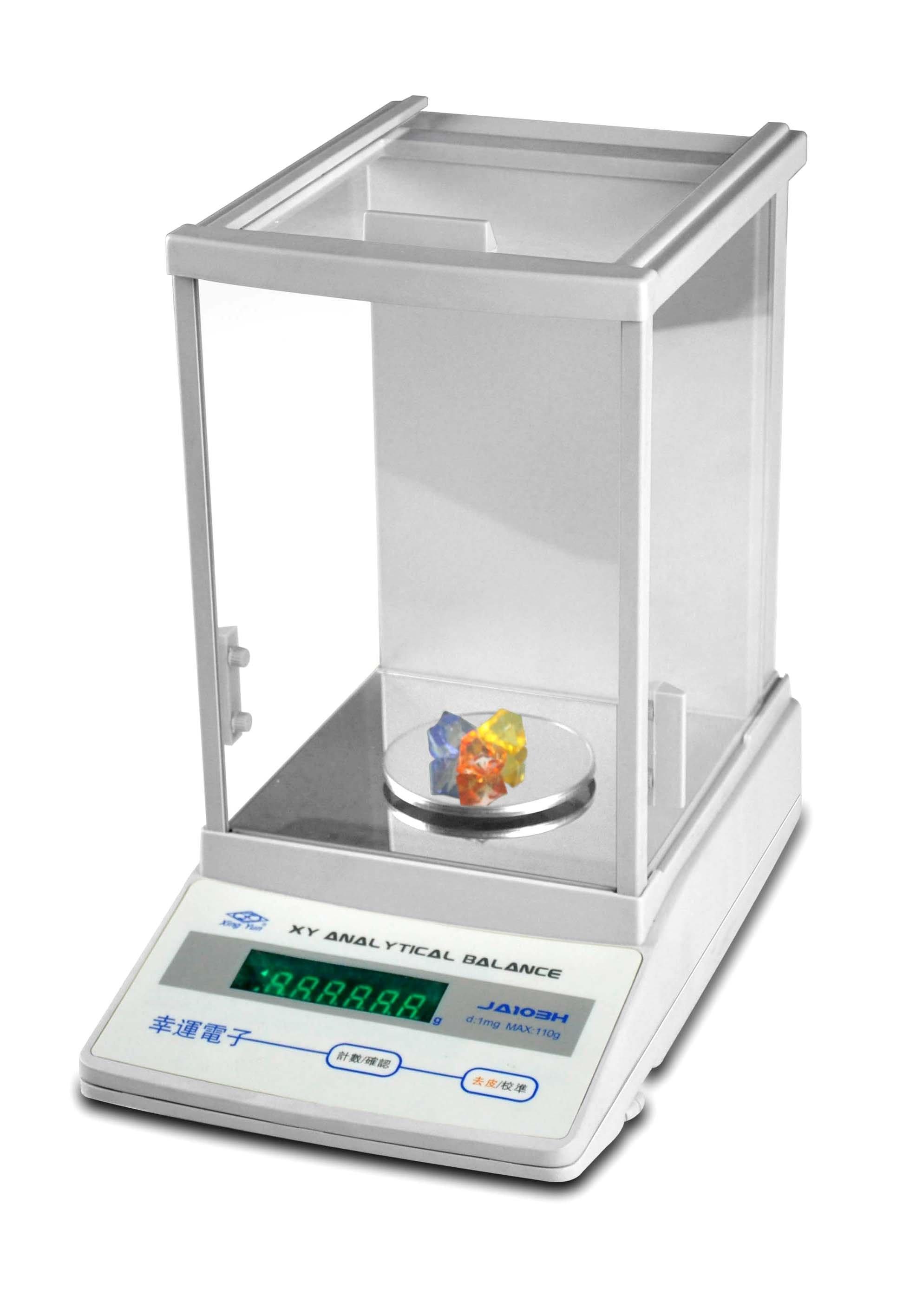 Electronic Lab Instruments : Mg scale analytical electronic balance laboratory