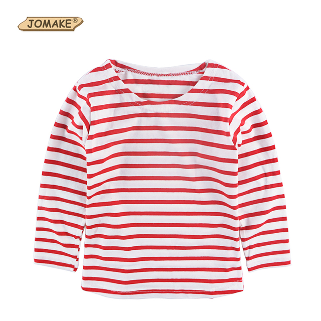 a956e876c 2017 Spring Kids Clothes Boys T shirts Long sleeved Red White ...