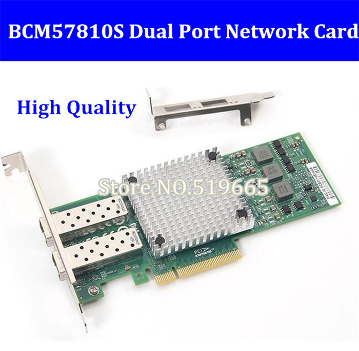 9812AF-2SFP+ PCI Expree pcie X8 10Gb fiber optical ethernet adapter dual port Network Card server lan Card BCM57810S lr link 9812af 2sfp 10gb fiber optical ethernet adapter dual port pci express network lan card broadcom bcm57810s nic