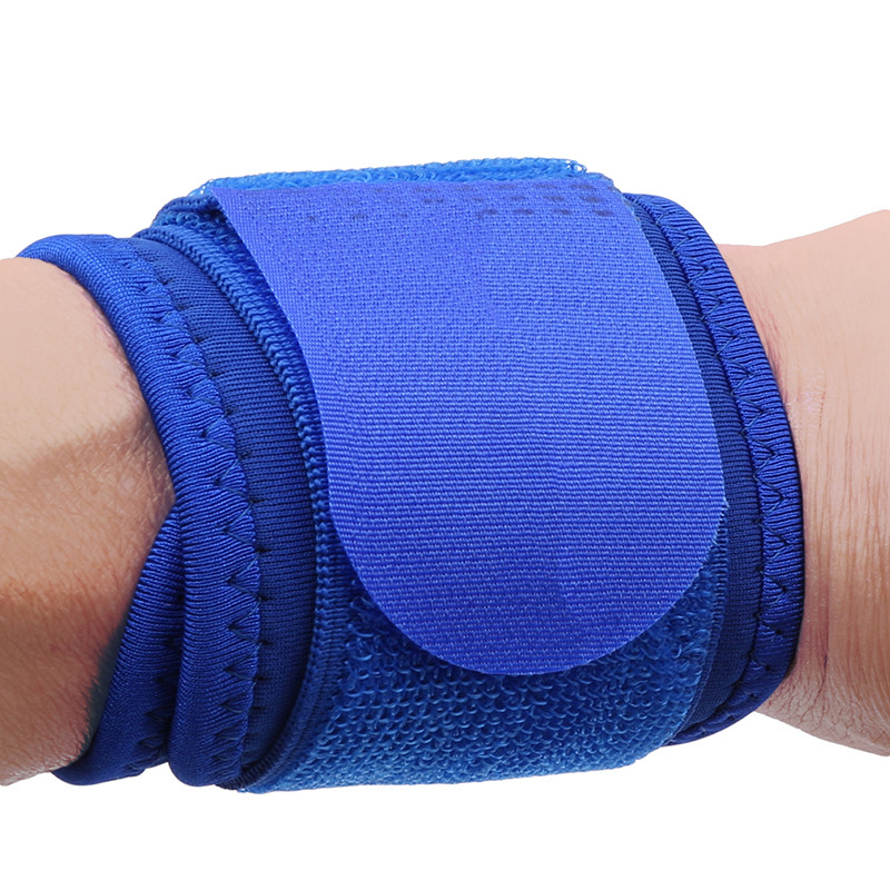 1PC Cotton Elastic Bandage Hand Sport Wristband Gym badminton Support Wrist Brace Wrap carpal tunnel