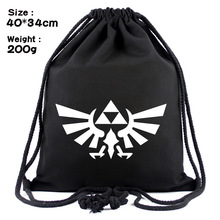 Zelda Zelda skyward sword of the wilderness of breath canvas contracted strand pocket backpack bag
