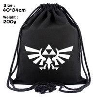 Zelda skyward меч пустыни дыхания холщовый Сокращенный strand рюкзак с карманами сумка