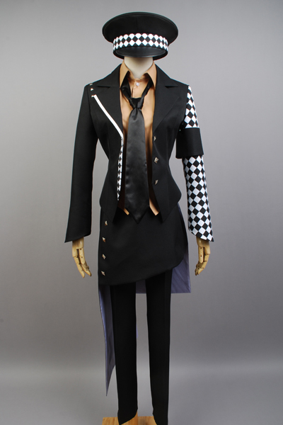 Damen Retro Jacke Mantel Blazer TopMedieval Coat Three-Breasted Irregular FL