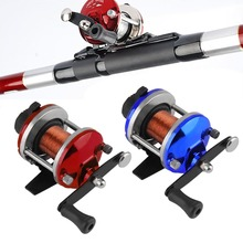 Right Handed Reel Round Baitcasting Fishing Reel Saltwater Fishing Reel In Stock