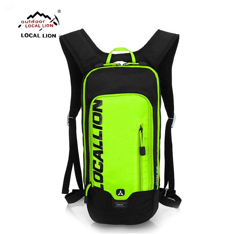 LOCALLION 15L <font><b>Hydration</b></font> Bicycle Backpack + 1L TPU Water Bladder Bag Waterproof Cycle Climb Camp Hike Mochilas Pack For Men Women