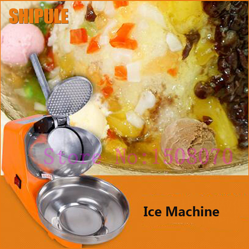 Hot SHIPULE hot new products for 2018 stainless steel ice shaver machine snow cone shaved crusher machine for sale