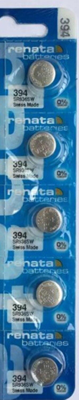 5 x V329 Batterie für Uhren Varta  5pcs