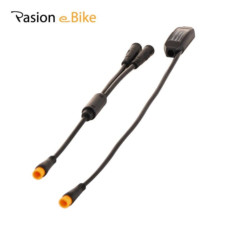 цена на Pasion E Bike BBS01 BBS02 BBSHD BAFANG Mid Drive Motor Gear Sensor Three Core Waterproof Connector 24CM Line BAFANG Shift Sensor