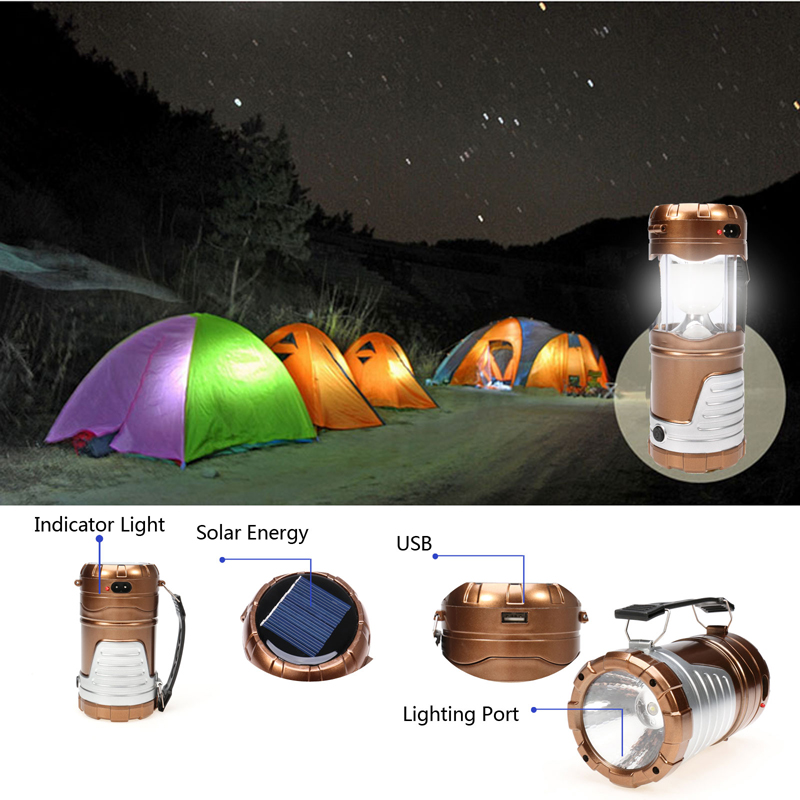 Outdoor Solar Flashlight,Multifunctional Camping LED Lamp Light Zoom Torches,Mobile Power For Phone Lanterna US/EU Plug sorbo multifunctional collapsible solar power camping lantern