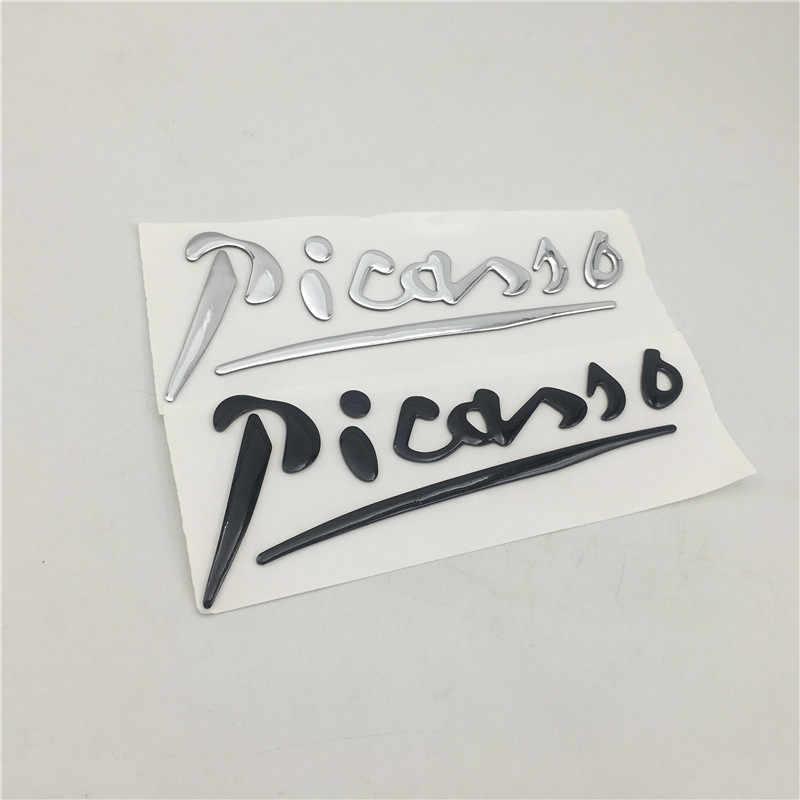 シトロエン C3 C4 Xsara ピカソエンブレムリアトランクテールゲート文字デカールサイドフェンダーロゴ銘板