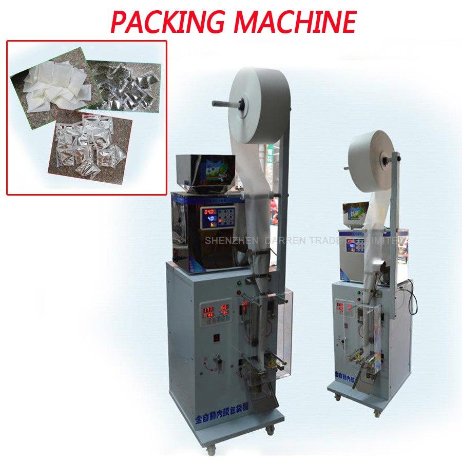 1-25g Automatique sac machine et Thé Sac D'emballage Machine 0.2KW automatique de pesage machine de remplissage de poudre 15- 20 alimentaire forfaits