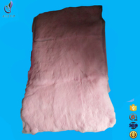 Chinese fur factory supply Customized real rabbit skins pelts with wholesale price