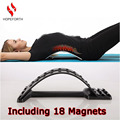 Hopeforth Back Massage Magnets Back Stretching Multi-Level Plus Waist Relax Mate Magic Stretcher Fitness Equipment Instructions