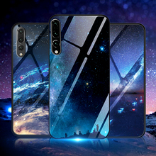 Tempered Glass Star Sky Case For Huawei