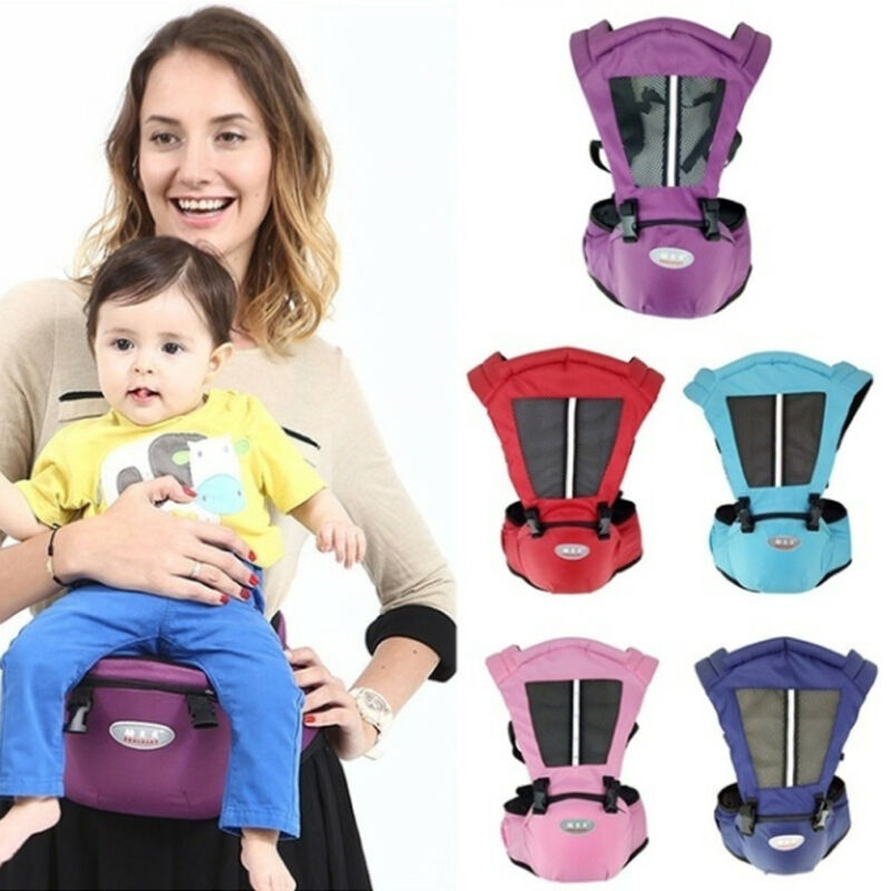 Newborn  Waist Hip Seat Wrap Belt Sling Backpack Front Back Chest Multifunction Breathable Carriers