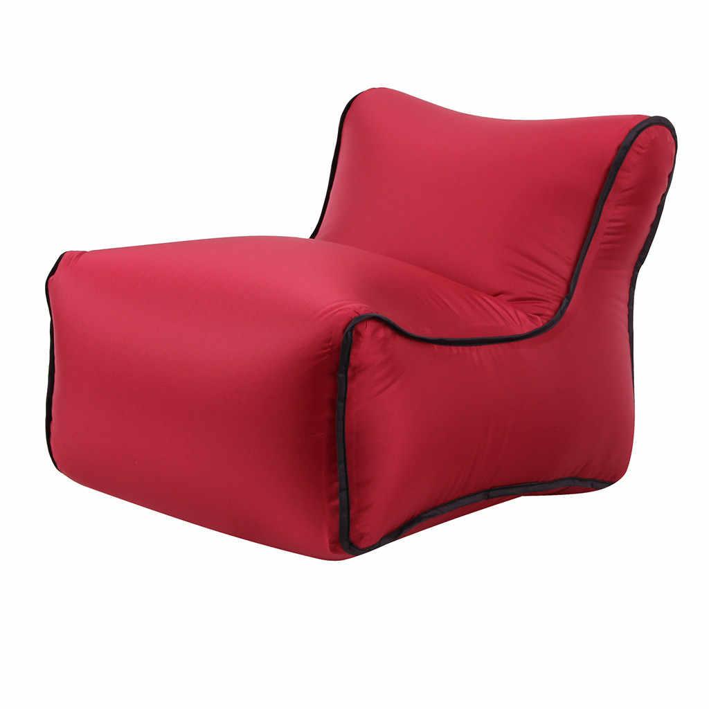 Novo criativo Cadeira Espreguiçadeira Sofá Preguiçoso Sofá de Ar Inflável Sacos de Festa Ao Ar Livre Camping Viagem para casa acessórios de decoração