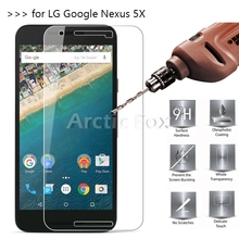 2.5D 0.26mm 9H Premium Tempered Glass Screen Protector For LG Google Nexus 5X H791 Toughened protective film For LG Nexus 5X