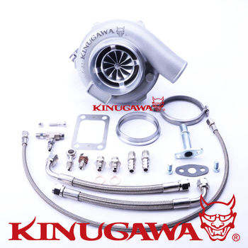 "Kinugawa Ball Bearing Turbocharger 4"" Anti-Surge GTX3071R AR.61 T3 V-Band for TOYOTA 1JZ-GTE 2JZ-GTE Top Mount"