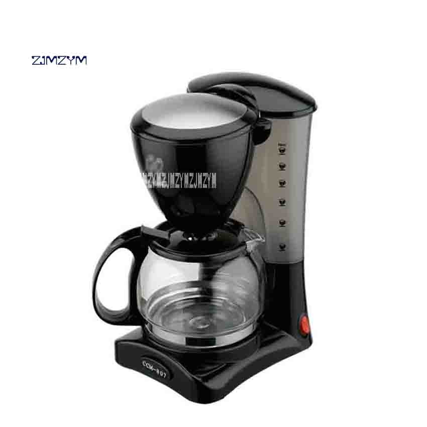 New CCM-807 Household American Coffee Drip Type Coffee Maker Automatic Small Coffee Maker 220V 50Hz 550W 0.6L/6-Cup Hot Selling ccm коньки хоккейные ccm sk ccm js ft350