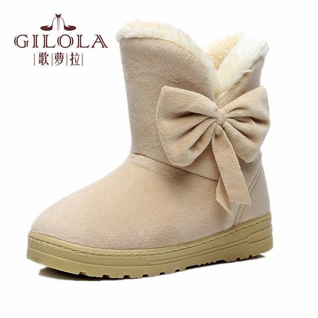 2016 nova manter pele dentro quente tornozelo moda flats mulheres sapatos mulher outono inverno botas botas de neve das mulheres melhor # Y1073706Q