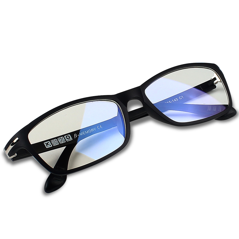 017742c5fb 2016 New TUNGSTEN CARBON STEEL Computer Goggles Anti Fatigue Radiation  resistant Glasses Frame Eyeglasses Oculos de grau RE13025-in Eyewear Frames  from ...