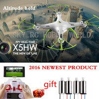 Original SYMA X5HW 4CH 2.4CH Rc Quadcopter Drone Helicopter Wifi Camera Transmission With Altitude High Hold Function