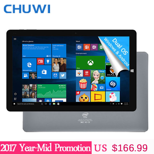 Chuwi официальный! 10.8 дюймов Chuwi Hi10 Plus Tablet PC Windows 10 двойной ОС Android 5.1 Intel Atom Z8350 Quad Core 4 ГБ ОЗУ 64 ГБ ROM