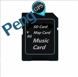 8G 32G mapa Offline mapa GPS mapa muzyczna karta SD karta TF pamięć Flash do samochodu odtwarzacz CD DVD telefon samochodowy Radio USB
