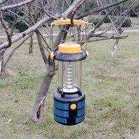 YUPARD Outdoor-sport 18 LED Tragbare Biwak Camping Licht Lampe Wanderung Zelt Laterne, beste Freier Tropfen-verschiffen 1 teile/los mit verpackung