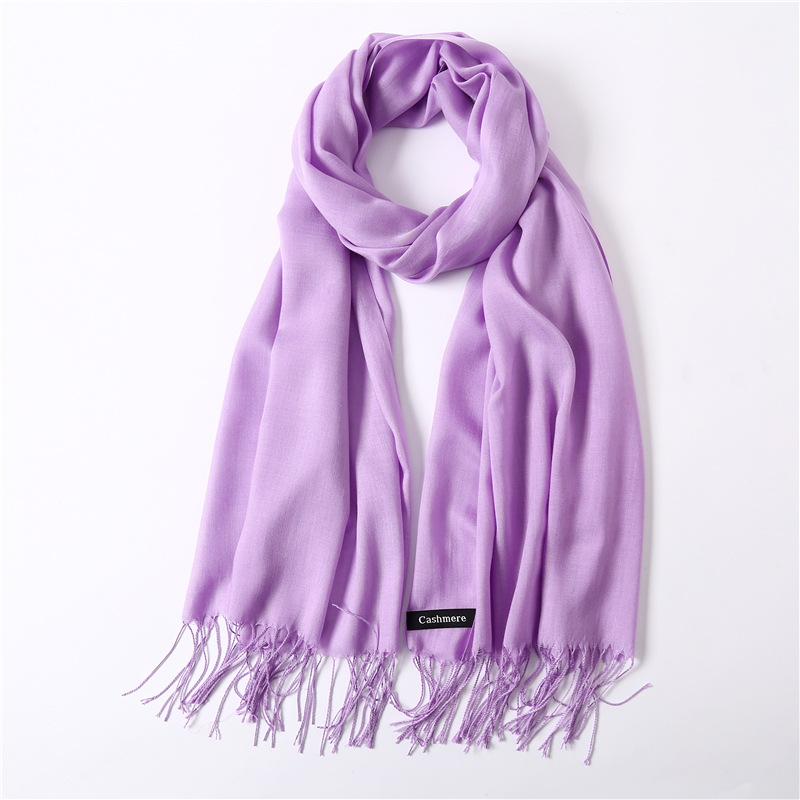 a4be455eaf15a FRALU New fashion spring winter scarves for women shawls and wraps lady  pashmina pure long cashmere head scarf hijabs stoles-in Women's Scarves  from Apparel ...