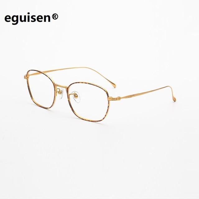 7373dc259917 width-135 Ultra light pure titanium full frame wrap retro female thin  optical woman eyeglasses