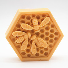 Wholesale Bee nest Craft soap molds cake chocolate wax candle silicone mold