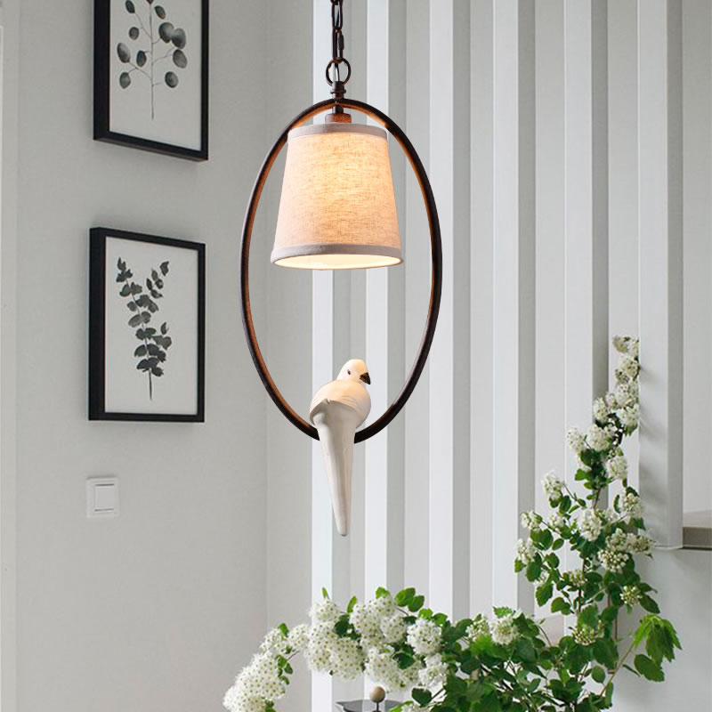 Hot selling bird pendant lamp for dining room novelty modern pendant lights living room home bird cage pendant light 2017 New modern wicker pendant light bird cage hand knitting pendant hanging dining room lamp american style for living room lighting