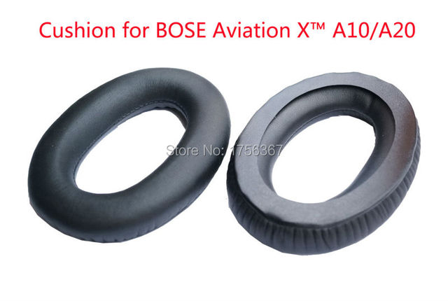 bose x headset. ear pads replacement cover for bose aviation headset x a10/aviation a20 headphones