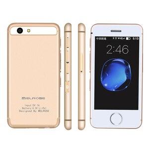 Image 1 - Kleinste android telefon Melrose S9 S9P 3G WIFI Ultra slim mini handy MTK6580 Quad core handys für kinder kinder