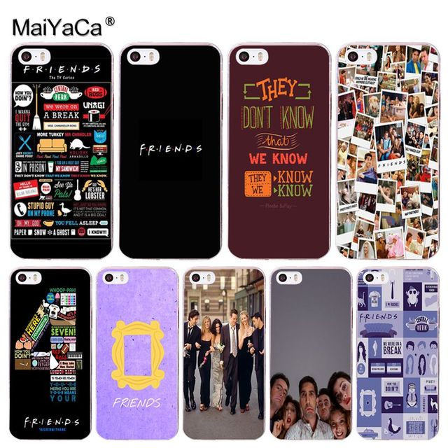 best website 99ca7 b3fd8 US $1.21 39% OFF|MaiYaCa TV Show Friends Diy Colorful TPU phone case for  Apple iPhone 8 7 6 6S Plus X 5 5S SE XR XS XS MAX Mobile Cases-in ...