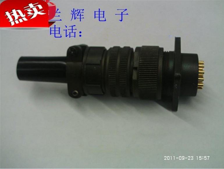 Original new 100% heavy and strong 5015 connector American Standard aviation plug MS3106A20-29S 17 core socket