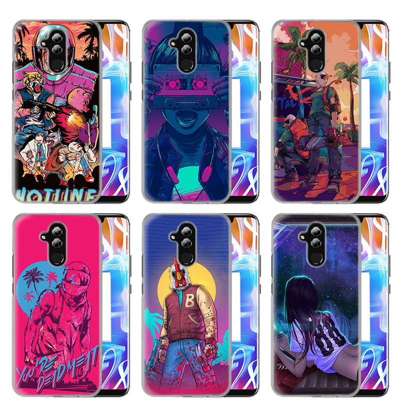 Cellphones & Telecommunications Phone Bags & Cases Generous Case Cover For Huawei Honor Mate 20 10 Y9 Y7 Y6 Prime Pro 2019 P30 10 9 Lite 8a 8c V20 Nova 4 Play Cool Game Hotline Miami Shell To Ensure Smooth Transmission