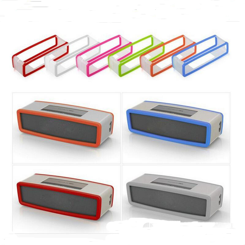 Factory Outlet Fashion Soft Silicone Case Cover For Bose SoundLink Mini 1/2 Bluetooth Speaker 9 Colors