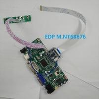 kit for LP156WF6(SP)(K1) HDMI VGA Controller board Panel Screen 30pin EDP LG display 1920*1080 15.6 LED LCD M.NT68676 DVI 60Hz