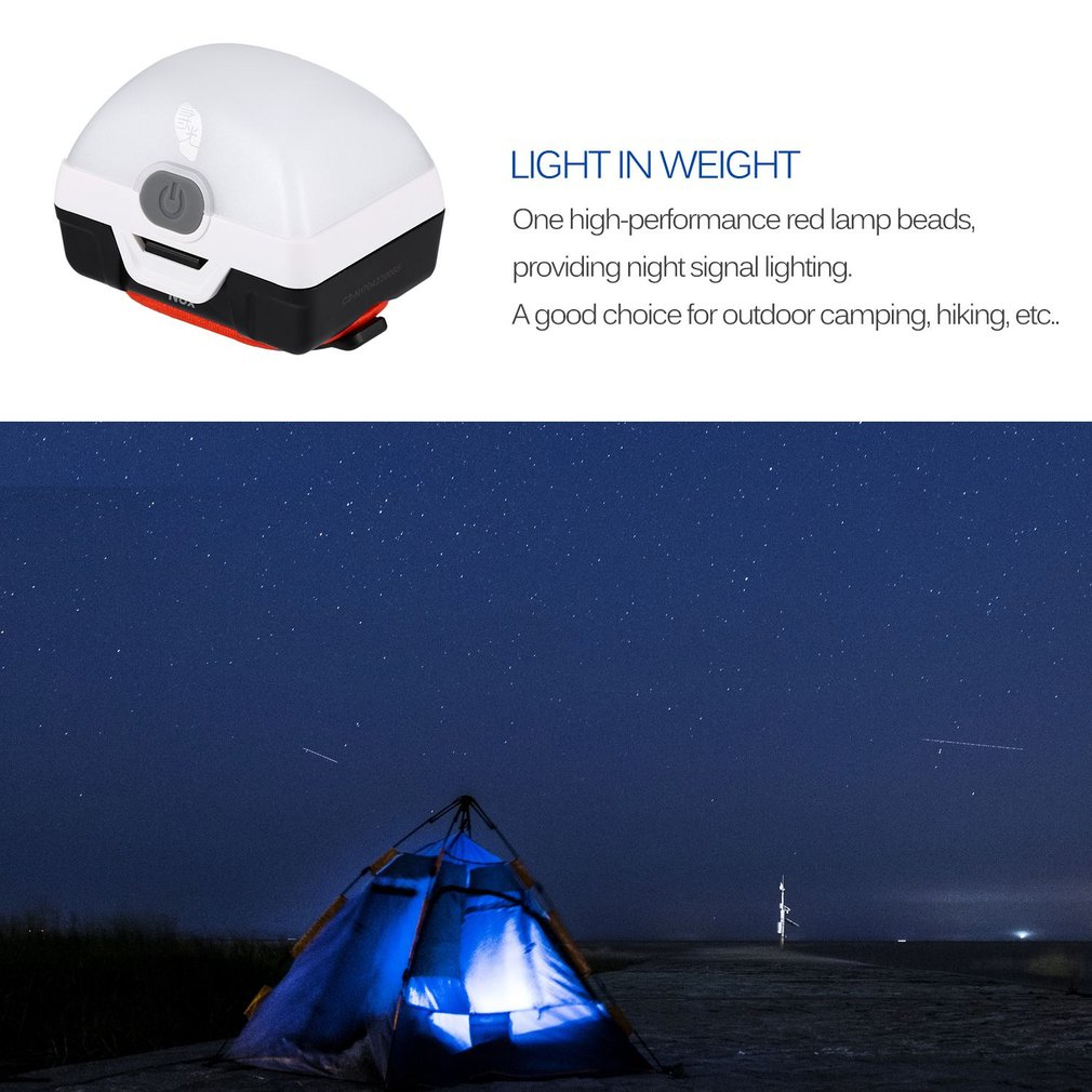 Portable NOX Camping Lantern Outdoor Camping Tent Lamp Super Lighting Waterproof IPX5 Camping Lamp with Magnet on Base