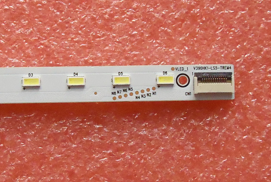 FOR Haier 39K700 Article Lamp 4A-D069457 Screen V390hk1-ls5 1piece=48LED 495MM