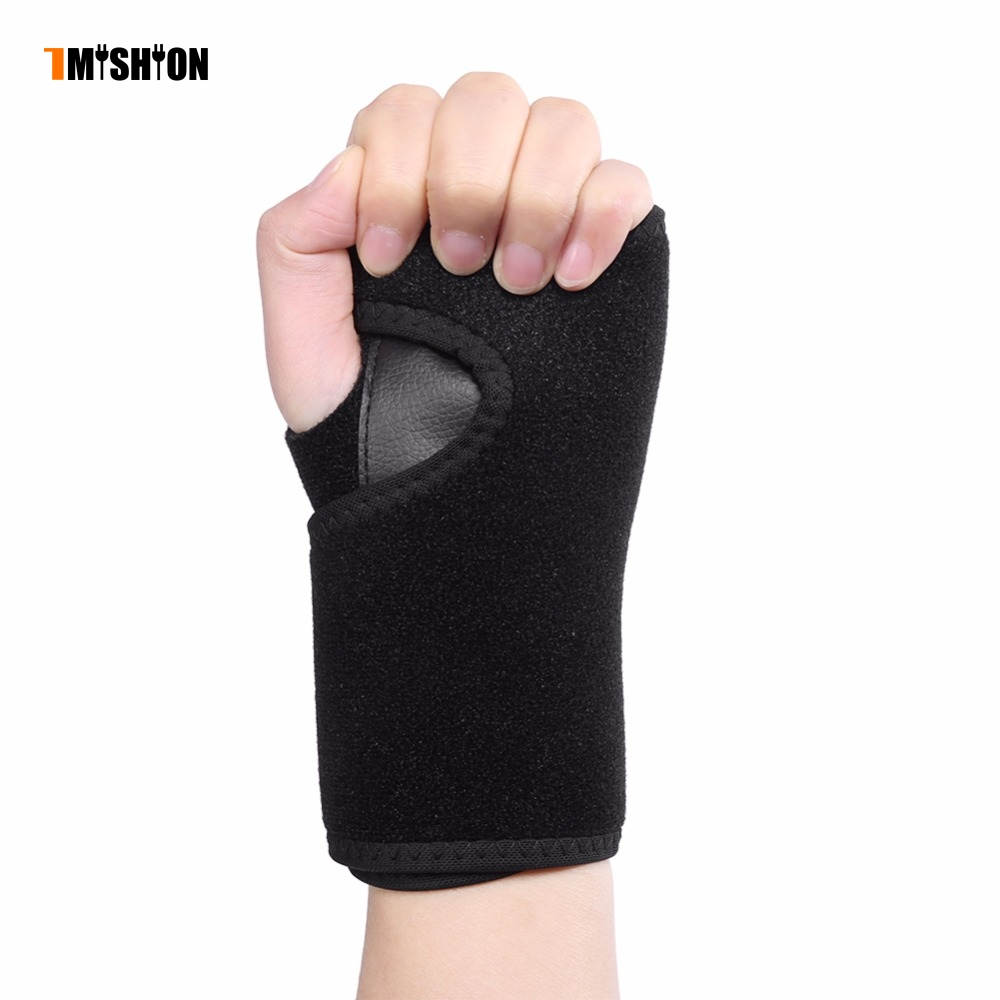 1PC Braces Support Women Men Left/Right Hand Brace Removable Splint Muscle Protector Sprains Fractures Wrist Support