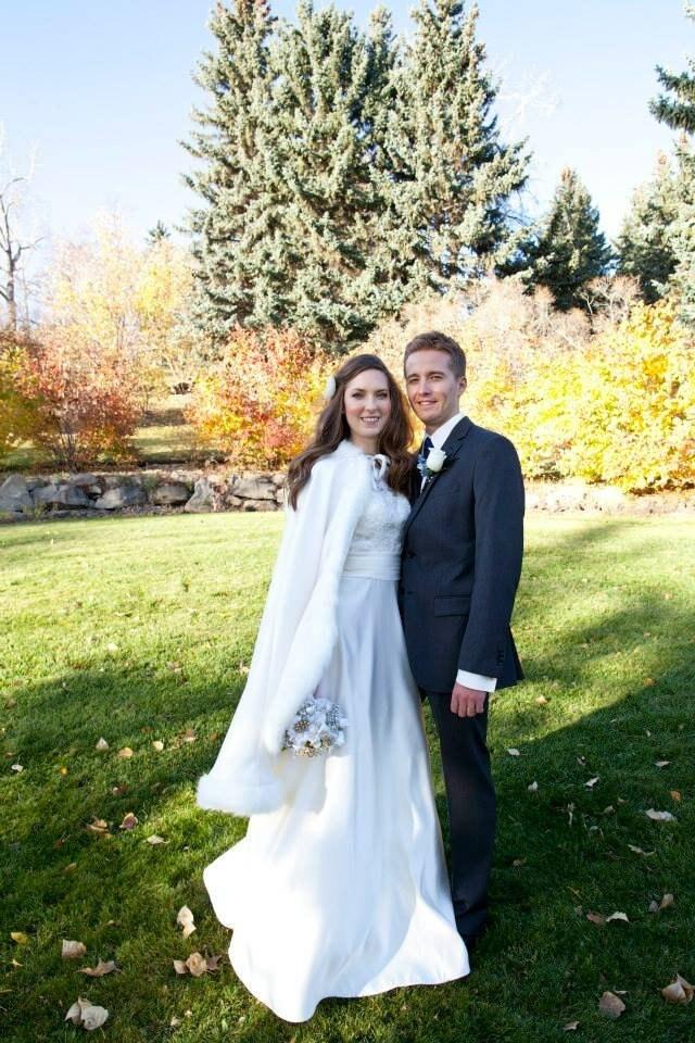 Bridal Cape Medium-length-cape 37-inch Satin With Fur Trim Wedding Cloak Handmade