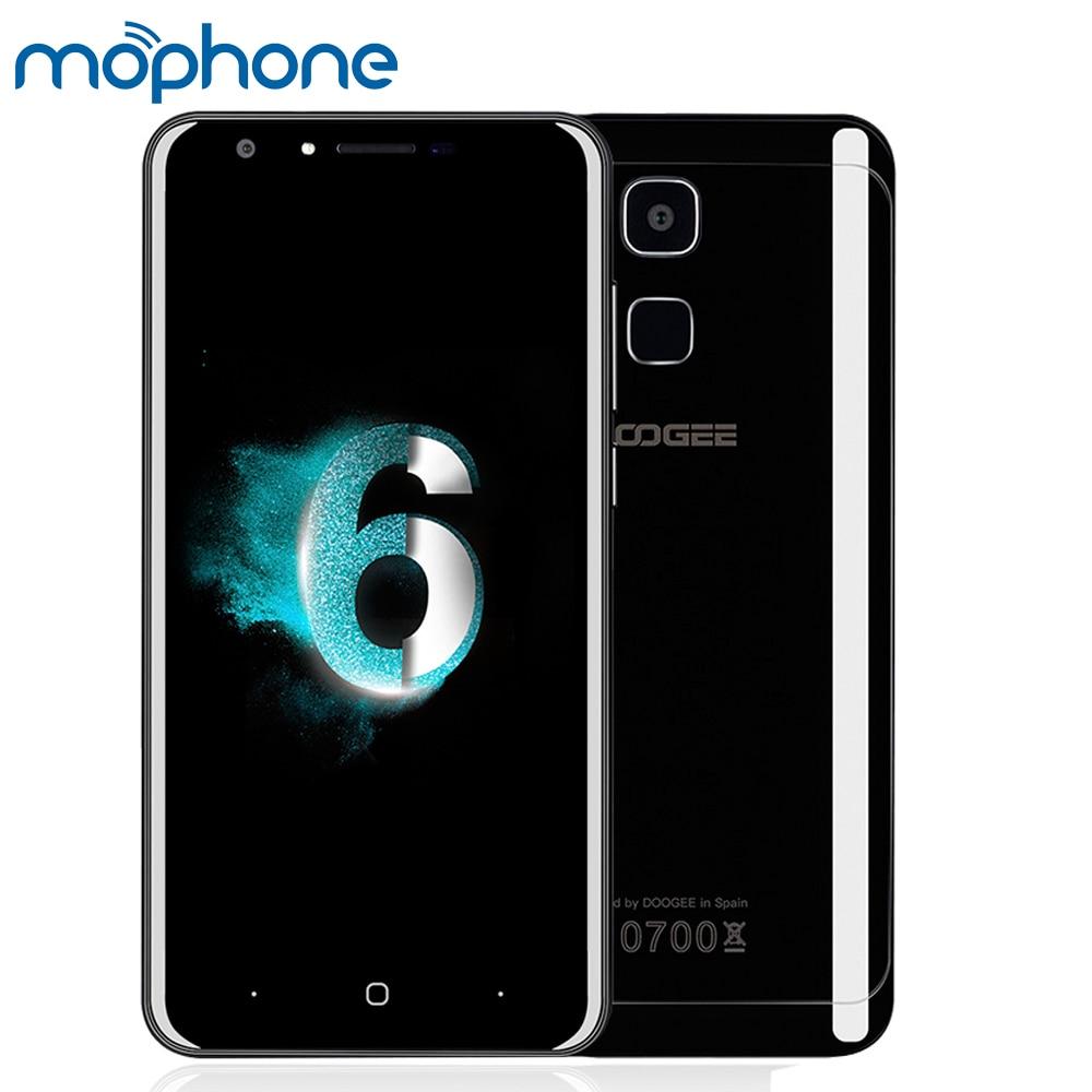 "bilder für DOOGEE Y6 Piano Black 4G Smartphone 4 GB + 64 GB 5,5 ""HD Screen 1280 * 720px MTK6750 octa-core Dual-kamera 3200 mAh Batterie Handy"
