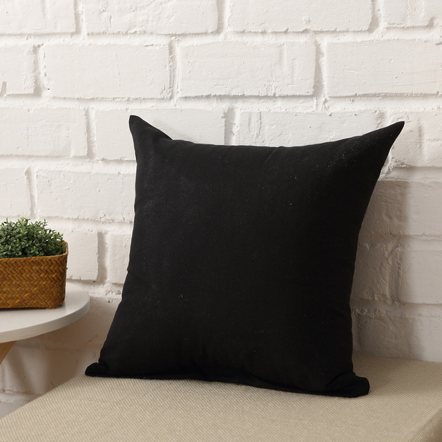 One Colored Pillow Case 2