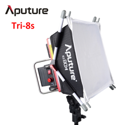 Aputure Amaran Tri-8s led video light panel Color Temperature 5000K With 2pcs NP-F970 Battery + Easy Box V mount